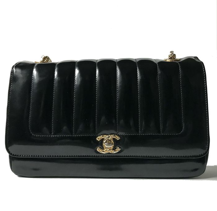 Chanel - Patent Leather Flap Shoulder bag