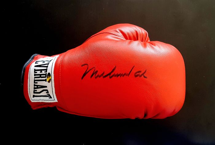 Boxing - Muhammad Ali - Autograph, Boxing gloves