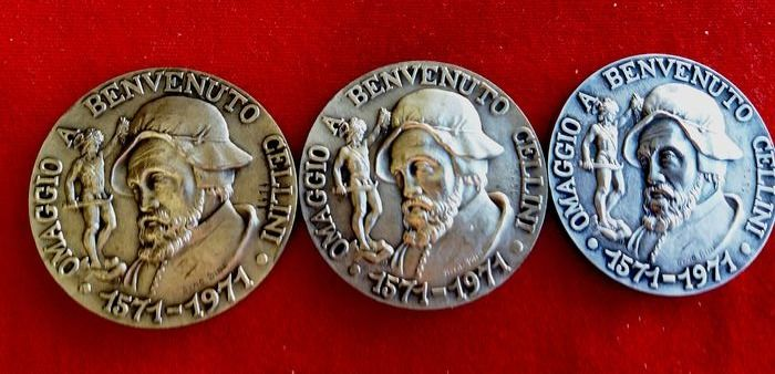 San Marino - Lot of 3 medals 1971 - Silver