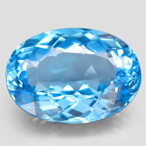 No Reserve Price - Blue Topaz - 18.75 ct