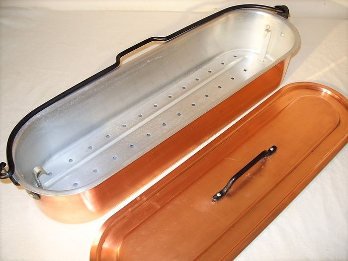 A decent French fish pan - Copper, aluminum, iron