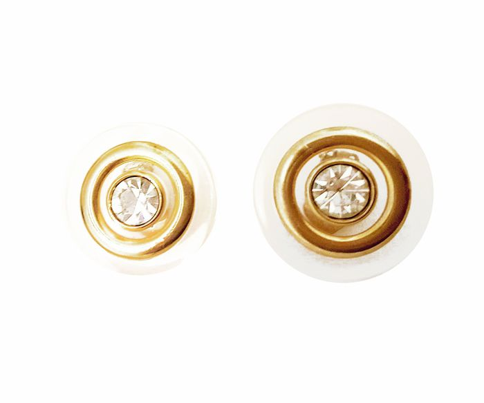 Valentino Limited Edition round earrings - NO RESERVES