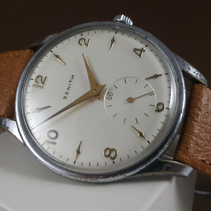 "Zenith - Oversize Sub-second - 'NO RESERVE PRICE""  - 9152574 (Cal. 126)  - Men - 1955"