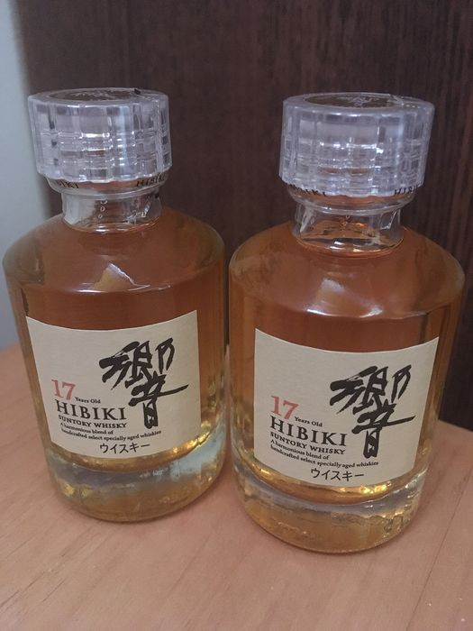 Hibiki 17 years old miniature - Suntory - 50ml - 2 bottles
