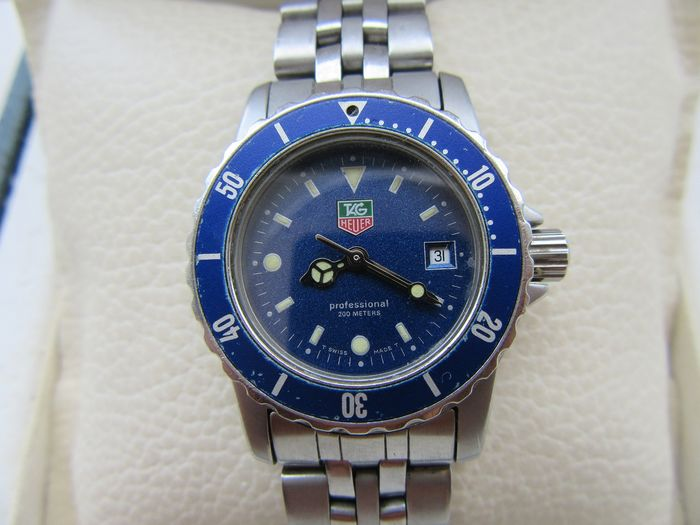 TAG Heuer - Tag Heuer Professional 200 meters Diver Lady - Women - 1990-1999