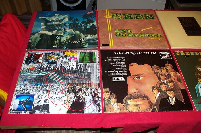 10cc, Creedence Clearwater Revival, Steve Miller Band, Them featuring Van Morrison , The Band  - Multiple artists - Multiple titles - 2xLP Album (double album), 3xLP Album (Triple album), Deluxe edition, LP's - 1970/1990