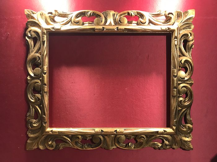 Museum frame - Gilt, Wood - Early 20th century