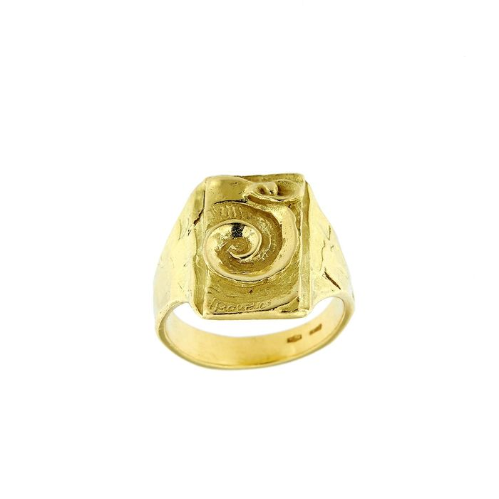 Made in Italy - 18 kt. Yellow gold - Ring