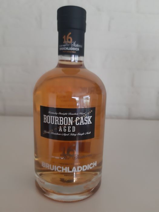 Bruichladdich 16 years old Bourbon Cask - 0.7 Ltr