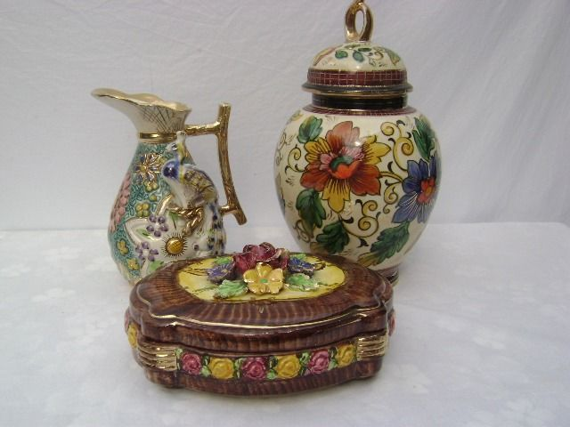 H. Bequet - Bequet - Quaregnon - Vase - can - cookie jar (3) - Ceramic