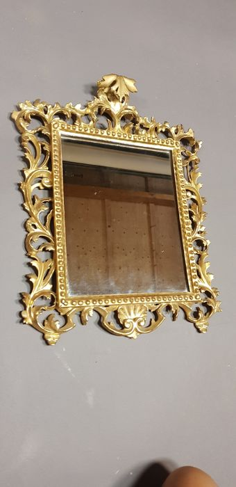 Wall mirror (1) - Baroque style - Wood - 19th century