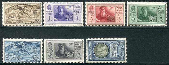 Italy Kingdom - 7 complete sets - Sassone vari