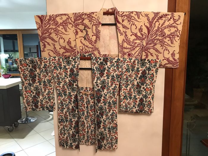 Haori (2) - Silk - Japan - mid 20th century