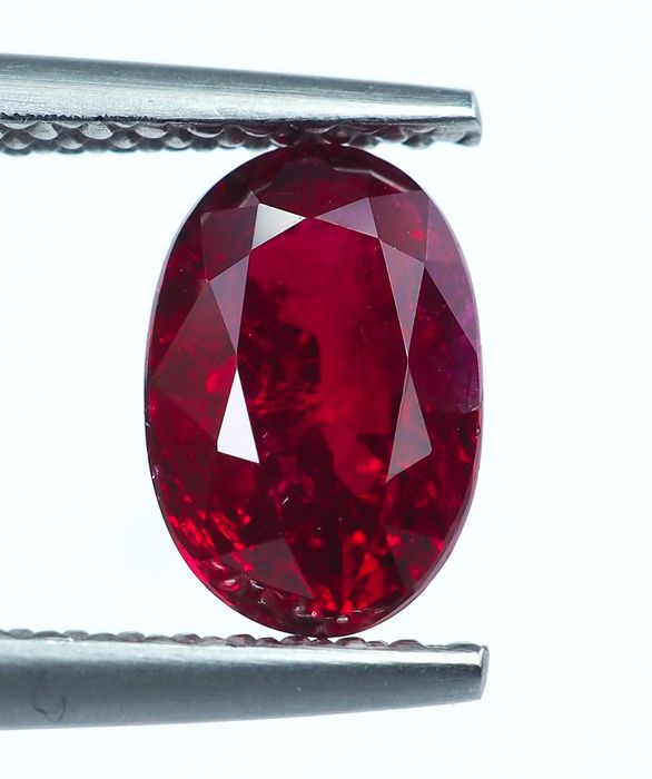 No Reserve -  Red Ruby - 1.56 ct
