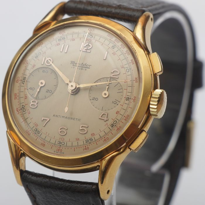 Montdor - Chronograph Suisse - Men - 1950-1959