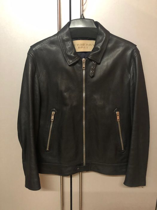 Burberry Brit  - Biker jacket - Size: EU 54 (IT 58 - ES/FR 54 - DE/NL 52), XXXL