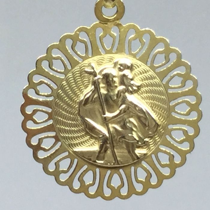 9 K Yellow gold - Pendant
