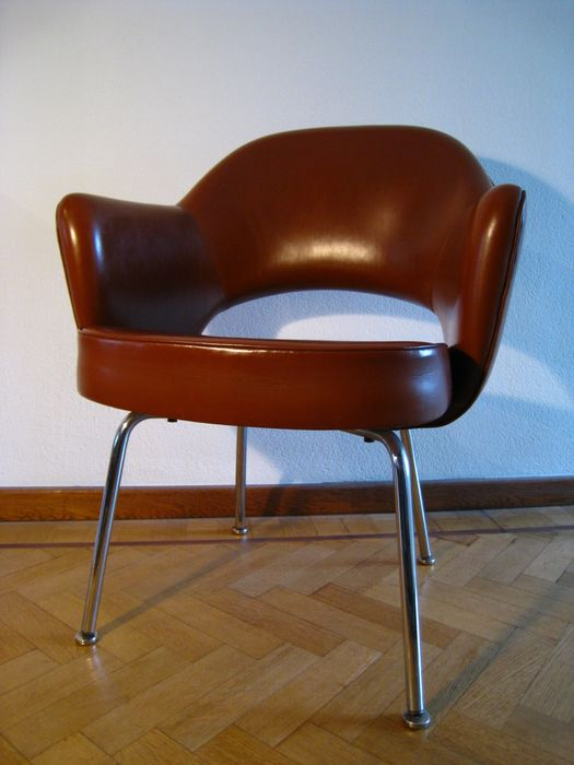 Eero Saarinen - Knoll - Fotel - Executive Armchair Steel Legs