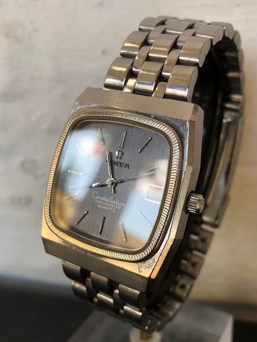 """Omega - Constellation - """"NO RESERVE PRICE"""" - Homme - 1970-1979"""