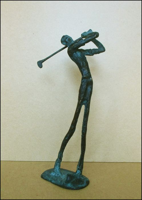 Anonymous - Sculpture, golfeur