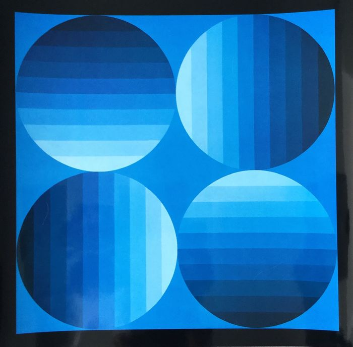 Victor Vasarely  - HOLD-K