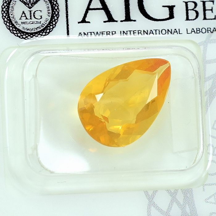 No Reserve Price - Fire Opal - 3.05 ct