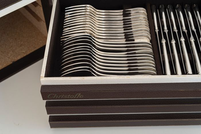 christofle cutlery set  (96) - Verzilverd - België