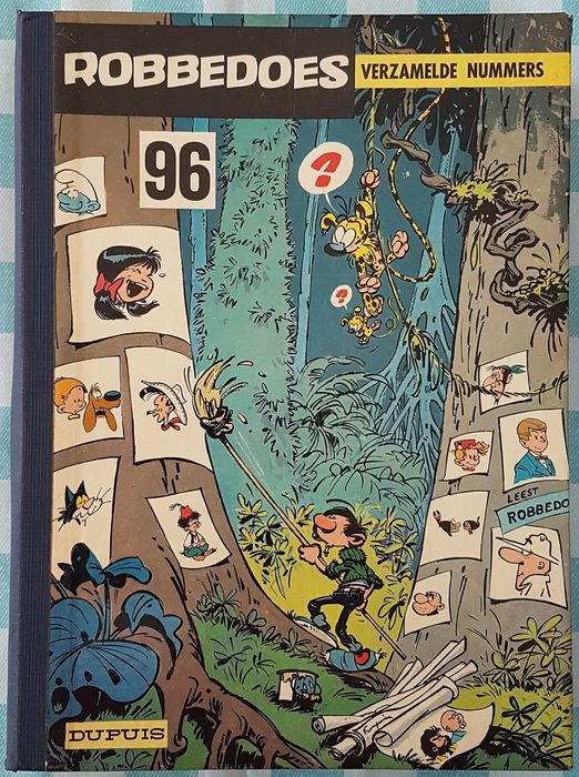 Robbedoes (magazine) - Album Nr 96 - Inclusief microverhalen  - Hardcover - First edition - (1965)