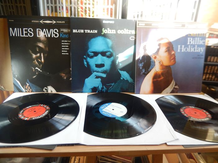Billie Holiday, John Coltrane, Miles Davis - Multiple artists - The Deagostini Album Collection Volumes 1,2 & 3. - Multiple titles - Limited edition, LP's - 2019/2018