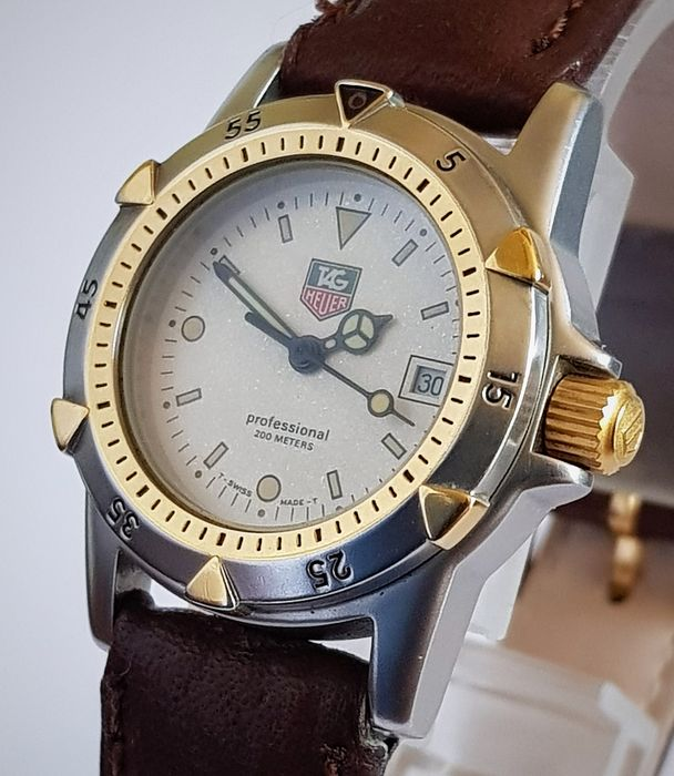 TAG Heuer - 200m Professional NO RESERVE - 955.7086 - Women - 2000-2010