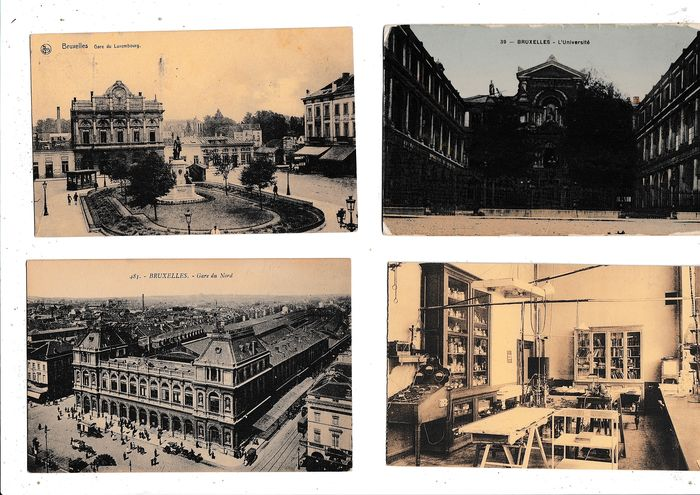 Belgium - Miscellaneous - BRUSSELS / BRUXELLES / BRUSSELS - Postcards (Collection of 324) - 1900