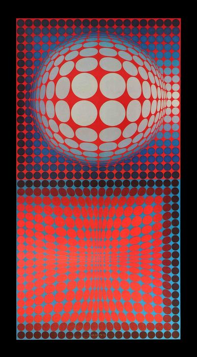 Victor Vasarely - HOST, 1974
