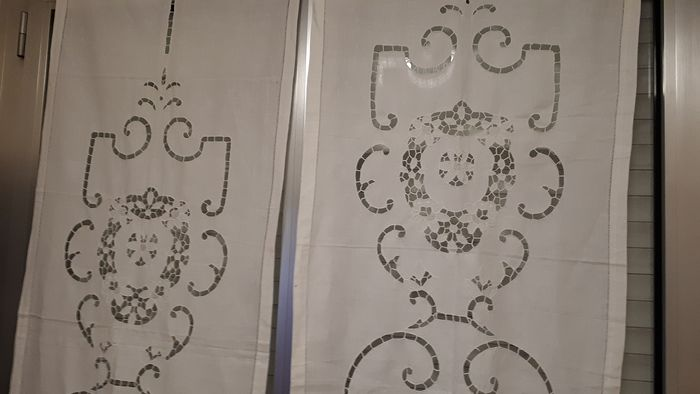 Curtain, embroidery (2) -cotton
