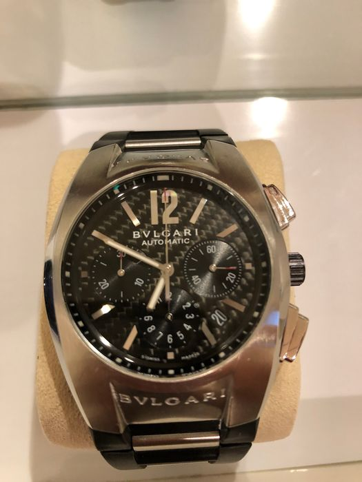 Bulgari - Ergon Chronograph Carbon Dial - EG40SCH - Men - 2000-2010