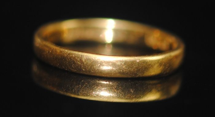 22 kt. Yellow gold - Ring