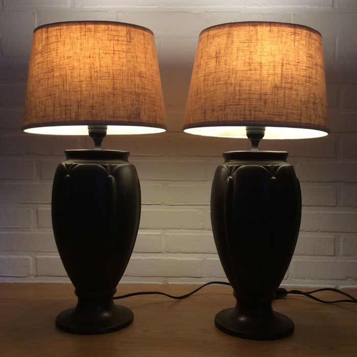 Van Den Heg - Table / Bed Lamps - Ceramic