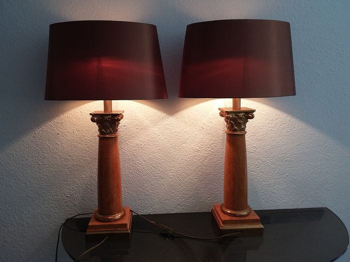Onbekend - Le Dauphin - Table lamp (2)