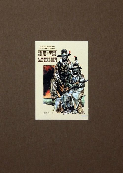 "Paolo Serpieri - vol. limited edition ""West 3 -  Battere il colpo"" - Hardcover - First edition - (2007)"