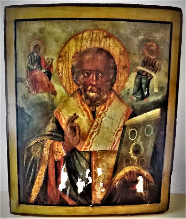 Icon - Wood - 18th century