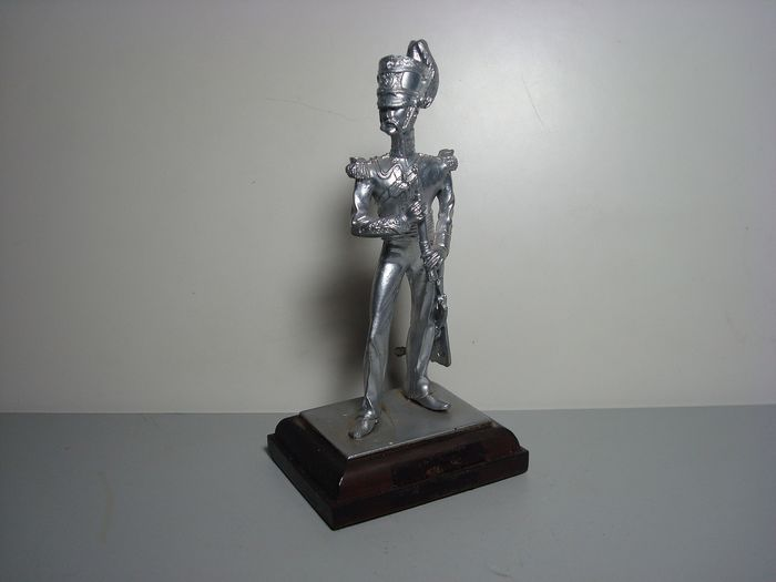 "unbekannt - Pewter figure ""Napoleonic army officer"", 130 mm - 2000-present"