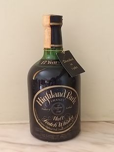 Highland Park 1960 17 years old 17 years - Original bottling - b. anii `70 - 75 cl