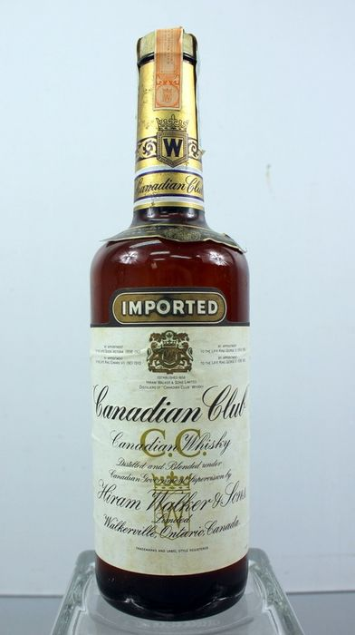 Canadian Club Imported by N.V. Wilmerink & Muller  - Hiram Walker & Sons Ltd - b. 1970s - 75cl