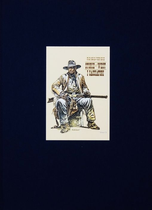 """Paolo Serpieri - vol. limited edition """"West 2 i Cacciatori"""" - Hardcover - First edition - (2006)"""