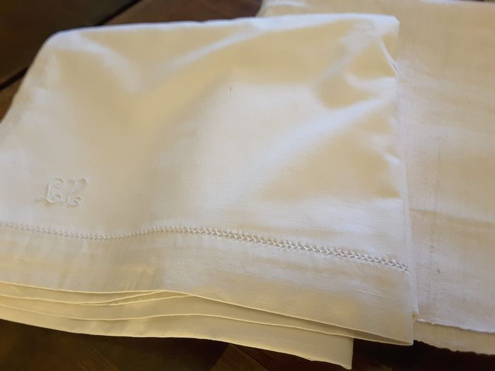 Sheets (2) - Linen blend and raw hemp