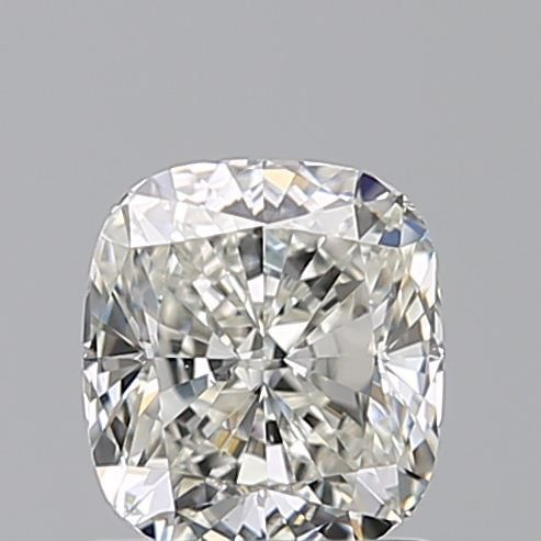 1 pcs Diamante - 1.21 ct - Cojín - J - VS2