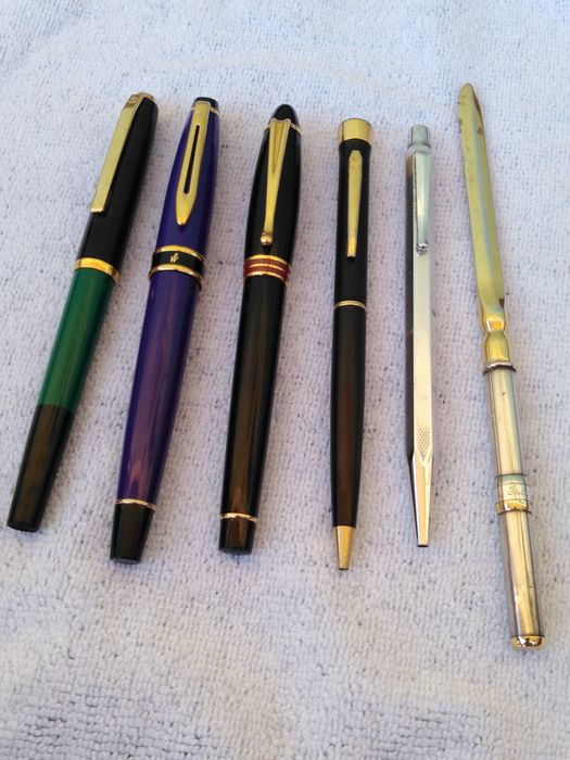 Lotto misto penne Aurora Pelikán waterman caran d  - Fountain pen - 6