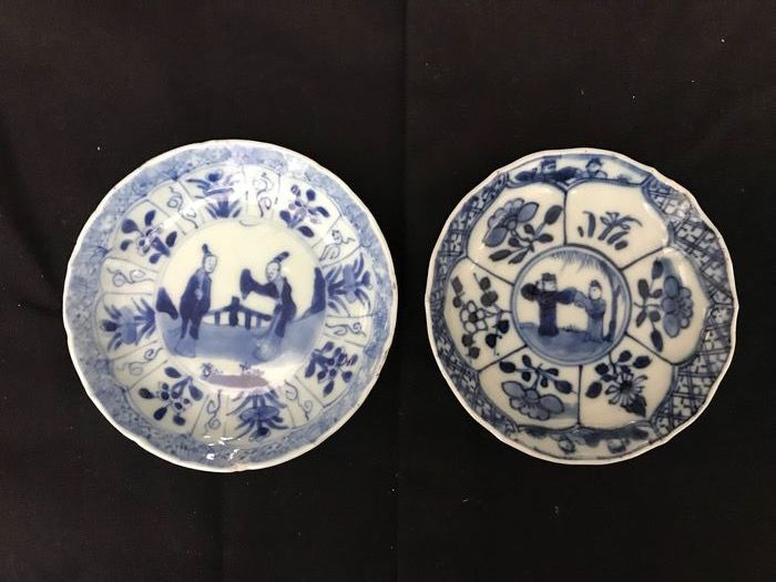 Plates - Porcelain - China - 18th century