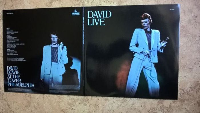 David Bowie - David Live (2005 Mix) - 2xLP álbum (álbum doble) - 2016