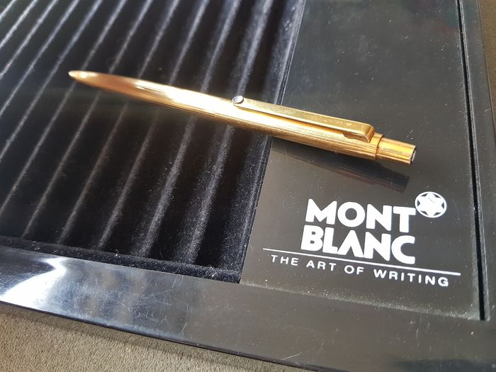 Montblanc - Noblesse ballpoint pen - Gold plated