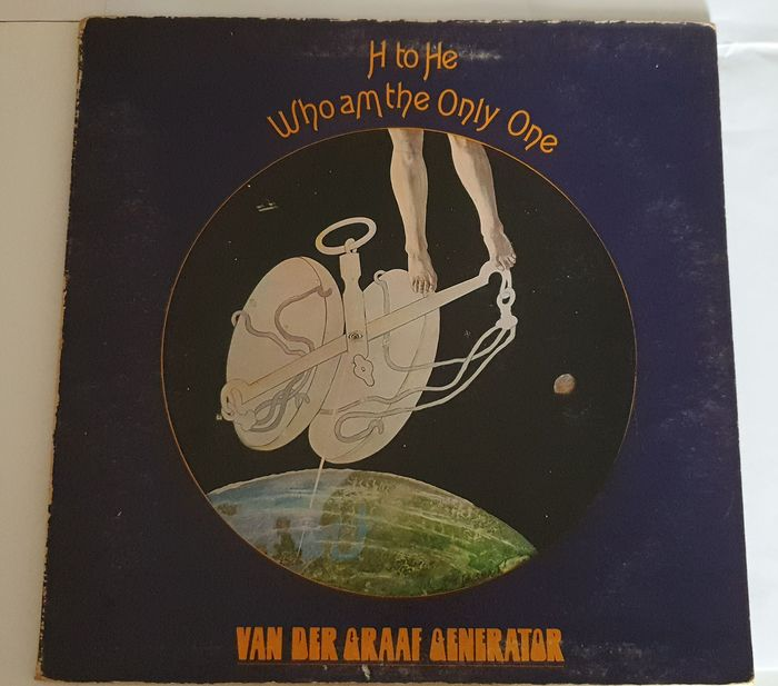 Van Der Graaf Generator - RARE  Progressive Rock 1970 UK 1st PRESSING - LP Album - 1970/1970